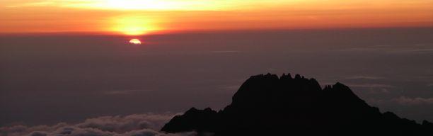 Ascent of Mt. Kilimanjaro via Marangu Route
